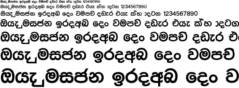 4u Sasika Sinhala Font