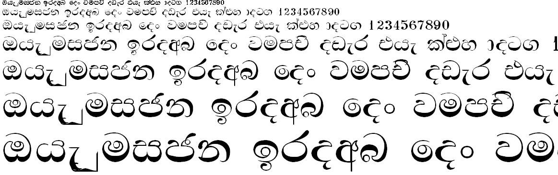 Aa Anurada Sinhala Font
