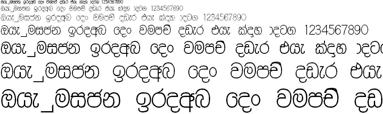 DS Ruwani PC Sinhala Font