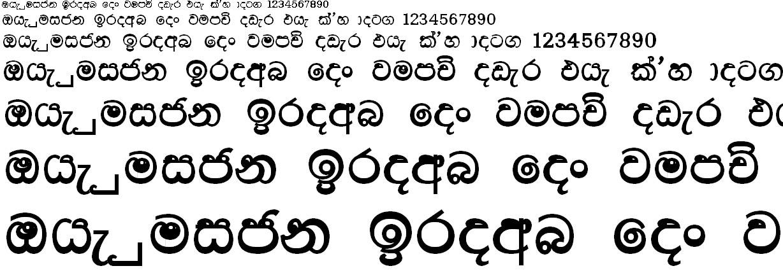 DL Lihini Ex Sinhala Font