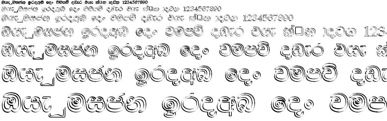DL Mangala Sinhala Font