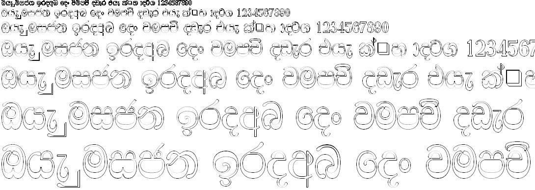 DL Sada Sinhala Font