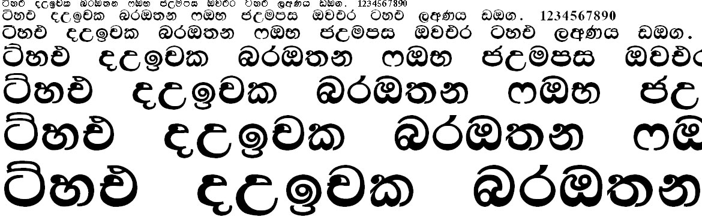 Kandy Sinhala Font
