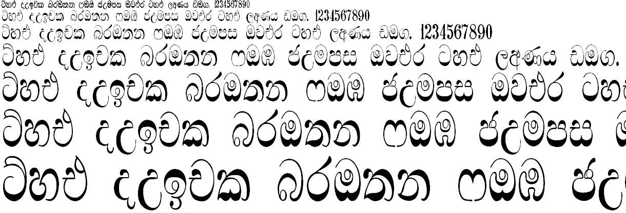 Matale Sinhala Font