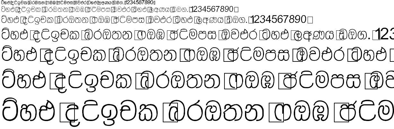 Matara Sinhala Font