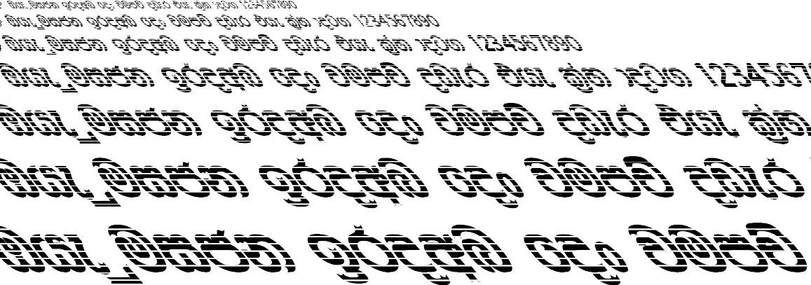 CPS 40 Sinhala Font