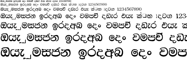 NPW Dilini Sinhala Font