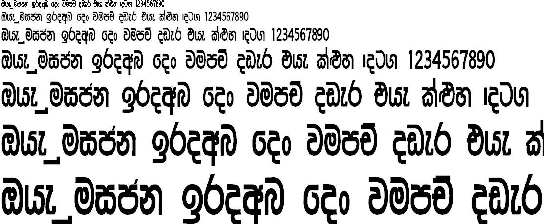 NPW Dilukshi Sinhala Font