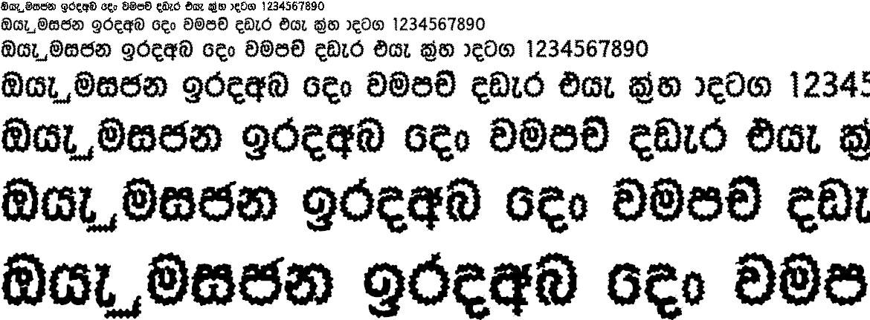 NPW Tharanga Sinhala Font
