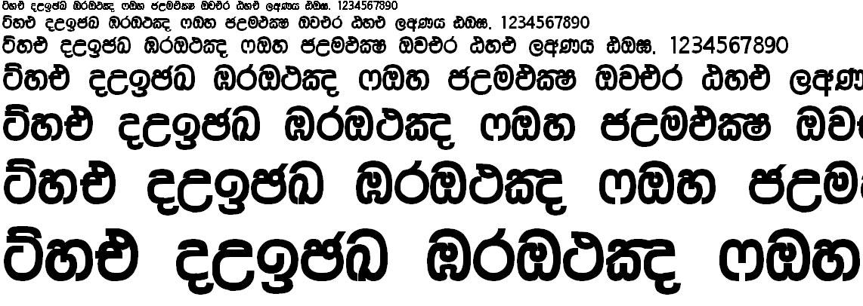 Rajini Supplement Sinhala Font
