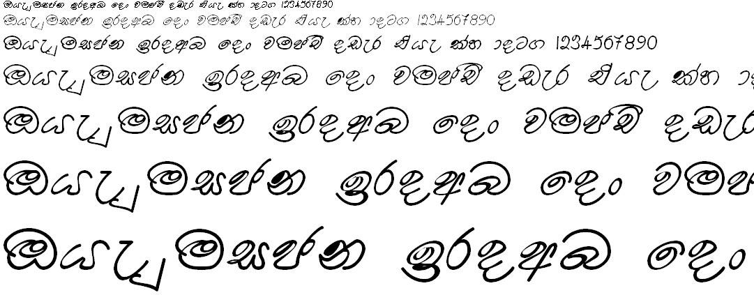 Somi Kokila Sinhala Font